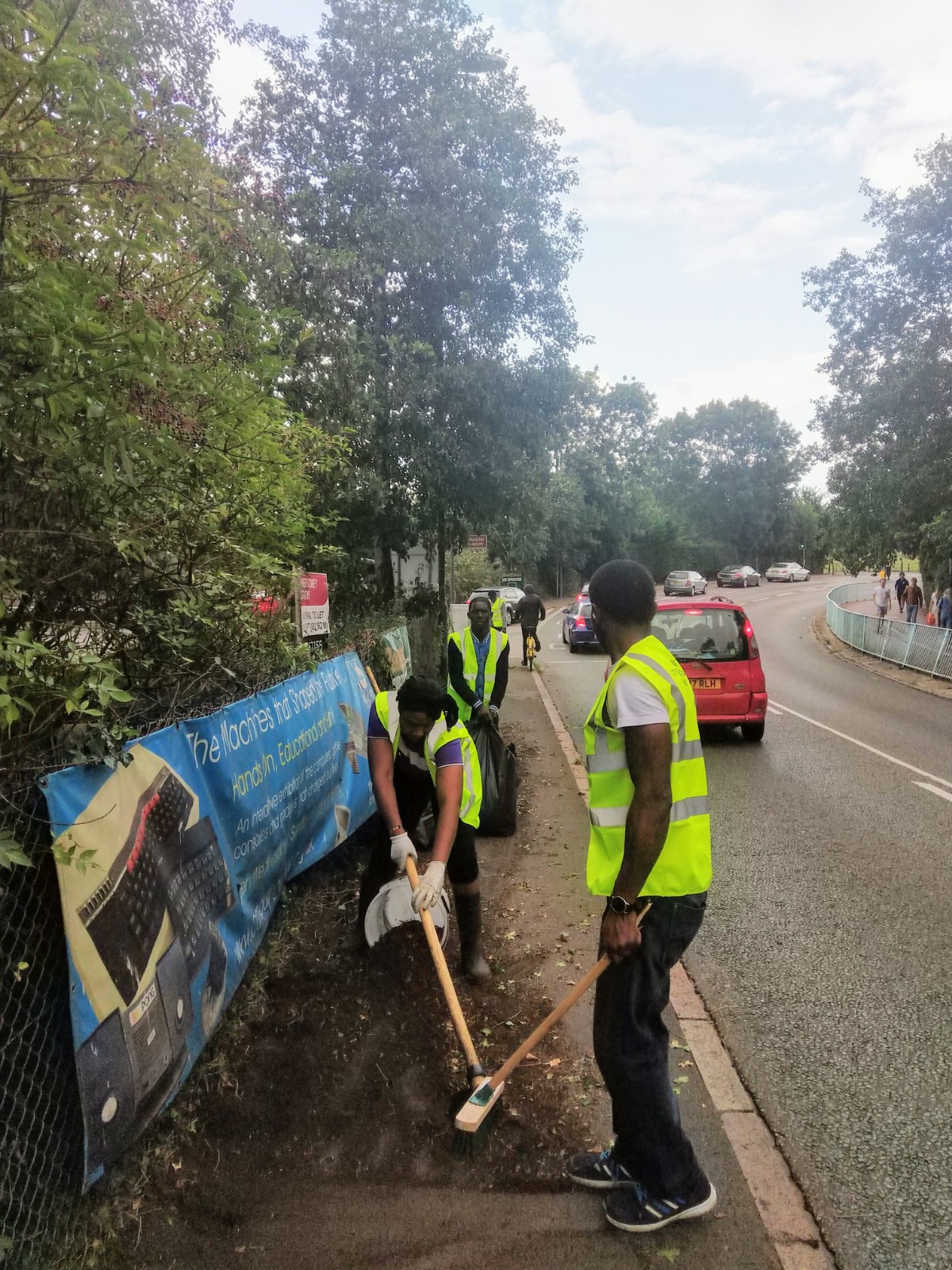 Community Action Day 25th Aug 2018
